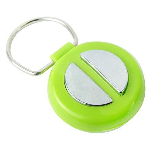 Kobwa(TM) Green and Silver Electric Shock Trick Gag Prank Toy Hand Shock Buzzer With Kobwa's Keyring