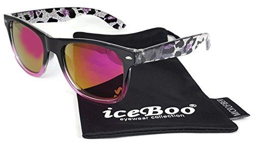 sol Lens iceBoo Purple W5022 para mujer Gafas Pink de ZZnxHT