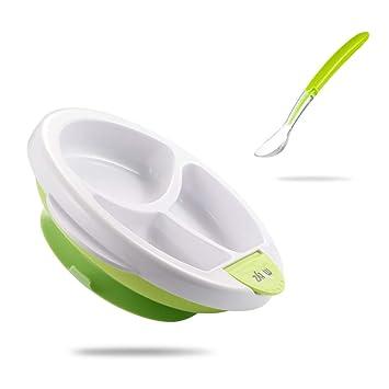 Amazon.com: Matyz Stay Put - Plato con ventosa para bebé ...