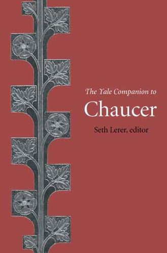 The Yale Companion to Chaucer