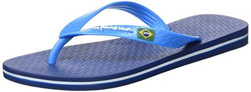 Ipanema Classica Brasil II AD, Men's Flip-Flops,Blue (Blue/Blue), 9/10 UK