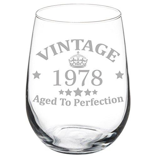 40 birthday wine glass - 3