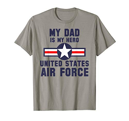 My Dad Is My Hero United States Air Force Vintage T-Shirt