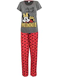 Disney Womens' Minnie Mouse Pajamas