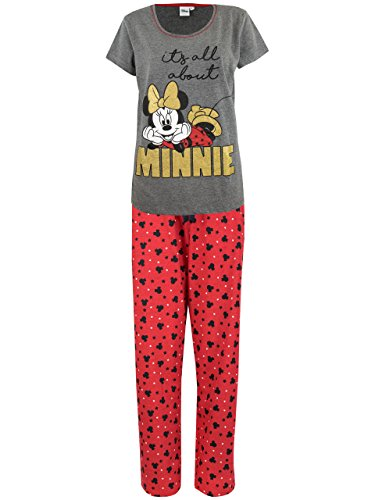 Disney Womens' Minnie Mouse Pajamas Size X-Large by Disney