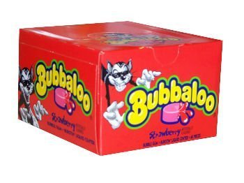Bubbaloo Bubble Gum Strawberry
