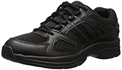 Propet Men's Denzel Casual Shoe, Black, 8 M US