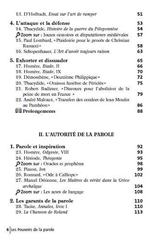 Amazon Fr Les Pouvoirs De La Parole Schmitzberger Gregoire Sorosina Arnaud Livres