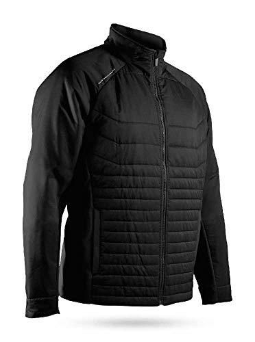 Sun Mountain 2019 Men's Hybrid Golf Jacket Black Small ()