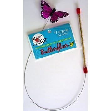 Go Cat Butterflier Wand Toy, from the maker of Da Bird by Go