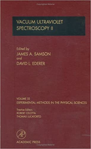 Vacuum Ultraviolet Spectroscopy II (Experimental Methods in the Physical Sciences)