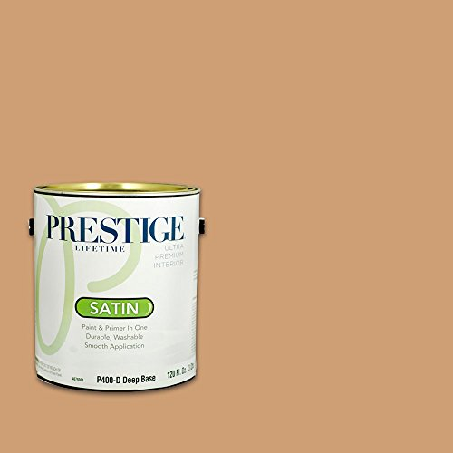 Prestige, Browns and Oranges 2 of 7, Interior Paint and Primer In One, 1-Gallon, Satin, Baguette