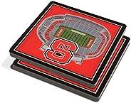 NCAA Unisex NCAA 3D StadiumView Coaster