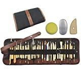 Wartoon 38Pack Sculpting Tools with Reusable