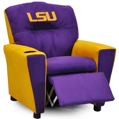 ''All American'' Collegiate Kids Recliner with Cup Holder