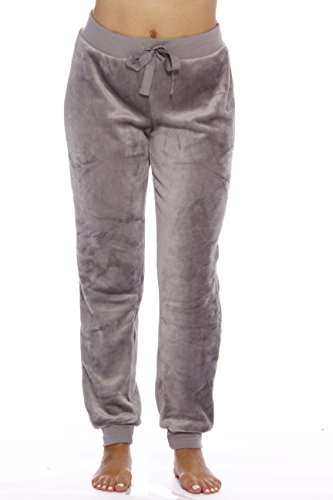 Just Love Velour Pajama Pants Joggers for Women ()