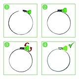 GLIDESTORE 4-Inch Key Hose Clamp, Key-Type