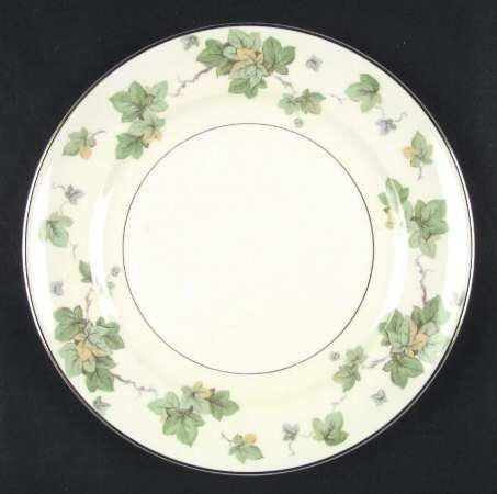 Vintage Antique Pope Gosser AMERICAN IVY Dinner Plate