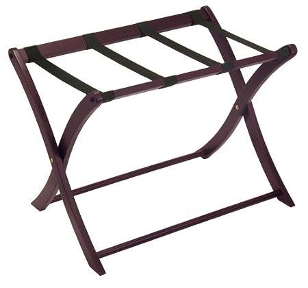 Winsome Wood Luggage Rack, Espresso 92420