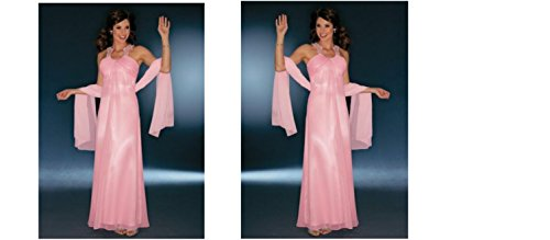 LAURA sCOTT *queen of the night robe de soirée, perles, taille 36 (18)