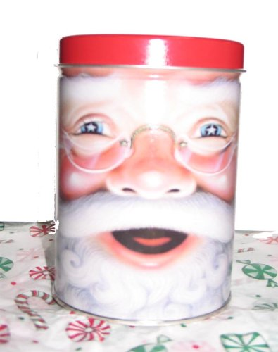 Old Time Christmas Mix SantaTin (Christmas Santa Tin)