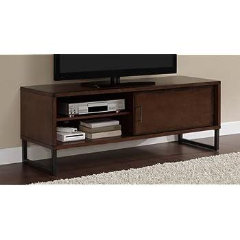 Amazoncom Breckenridge Walnut 50 Inch Flat Screen Tv Stand Media