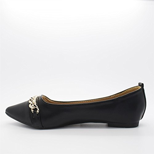 Nero Zeppa London donna Footwear nero con Sandali wU4qB6F