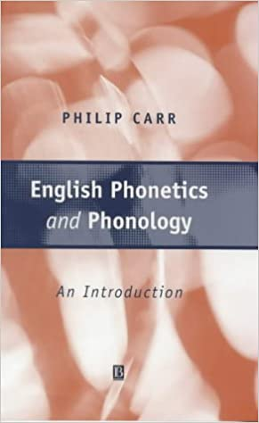 Book English Phonetics and Phonology