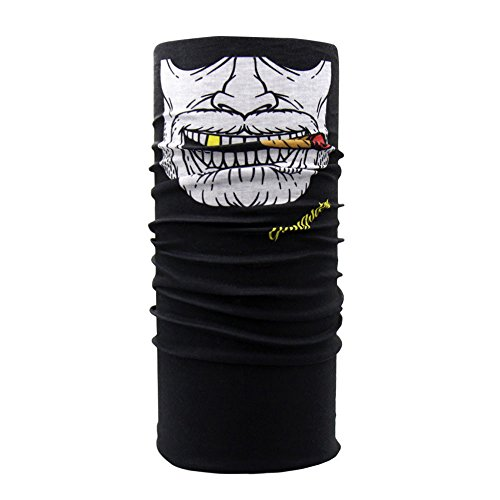 (yijiamaoyiyouxia-Face Masks, Clown Cycling Motorcycle Neck Tube Ski Scarf Face Mask Balaclava Halloween Party)