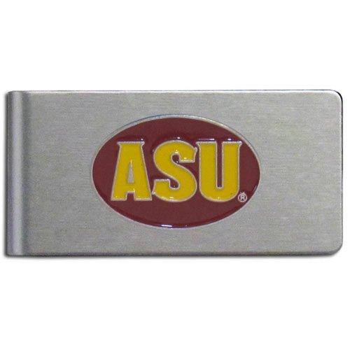 (NCAA Arizona State Sun Devils Brushed Money Clip )