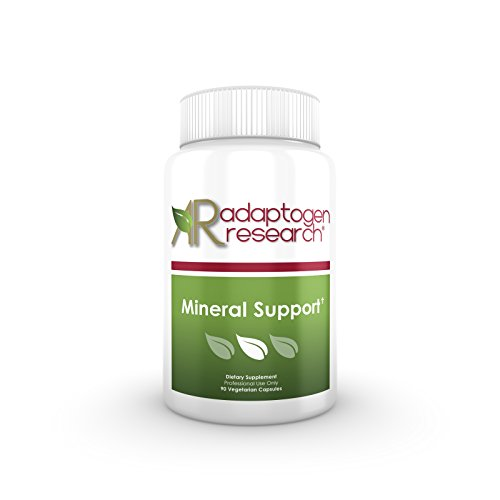 Mineral Support | Chelated Minerals Without Iron | Mineral Supplement from Albion Advanced Nutritions | Complex with Calcium Iodine Magnesium Zinc Potassium Chromium & more | 90 Vegetarian Capsules