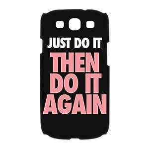 Custombox Just Do It Samsung Galaxy S3 I9300 Case Hard Case Plastic Hard Phone Case-Samsung Galaxy S3-DF00841