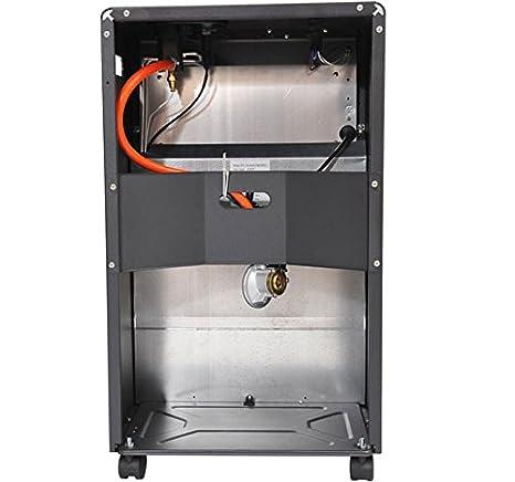 Calentador de Gas Butano y/o Electrico con Emisores Calor Radiador de Ceramica y Emisores Calor Electrico 4,2kW: Amazon.es: Bricolaje y herramientas