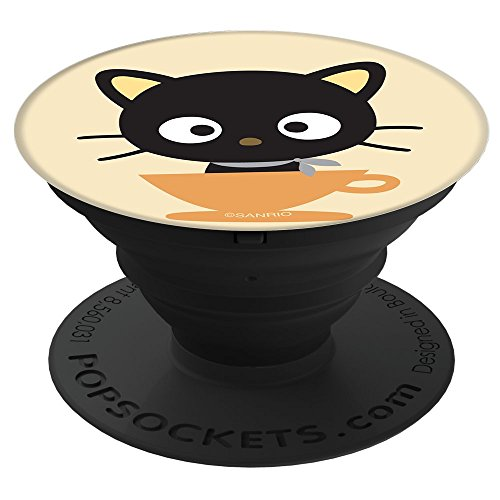 Chococat Coffee Cup PopSockets Stand for Smartphones and Tablets