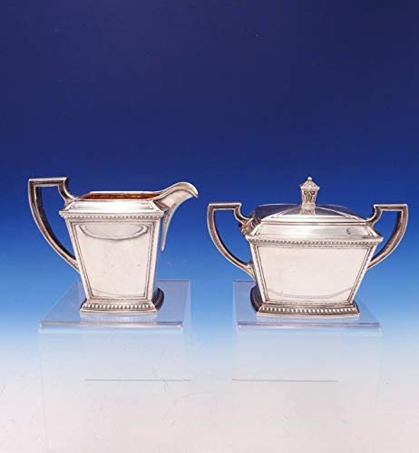 Pantheon by International Sterling Silver Sugar and Creamer 2pc #5607 (#3069)