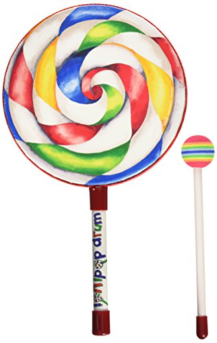 Remo ET-7108-00 Kids Percussion Lollipop Drum, 8″