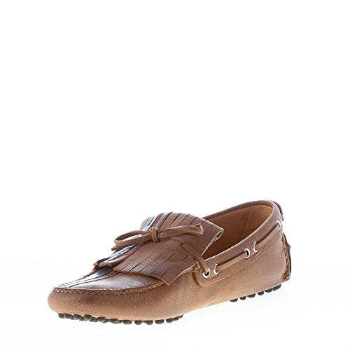 D0676 uomo scarpa Marrone SHOE shoe marrone CAR mocassino man loafer UrUHnqg
