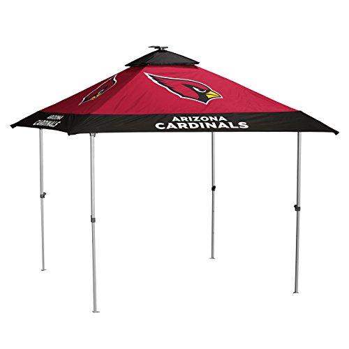 Logo Brands NFL Arizona Cardinals Pagoda Tent Pagoda Tent, Cardinal, One Size