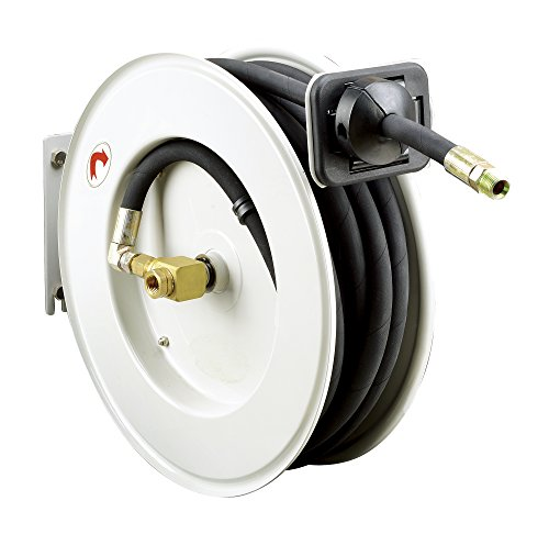 REELWORKS Heavy Duty Spring Driven Hose Reel (1/2'' x 50 Ft. OIL HOSE REEL) by Reelworks (Image #8)
