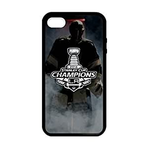 LA Kings pattern Image 4 Case Cover Hard Plastic Case tive Iphone 4s / Iphone for Iphone 4 4sprotec