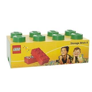 LEGO Plast Team Storage Brick 8 Green