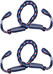 Boat Dock Line Rope Bungee Cords for Boats, Boating Gifts for Men, Boat Accessories, Pontoon Accessories, for