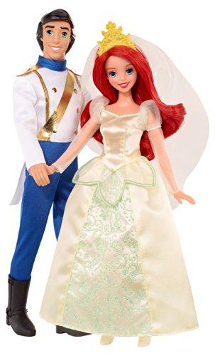 Disney Princess The Little Mermaid Ariel and Eric Wedding Pair Gift Set