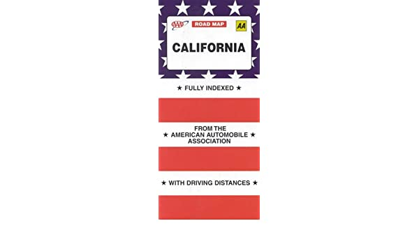 Aaa California Map.California Aaa Road Map American Automobile Association