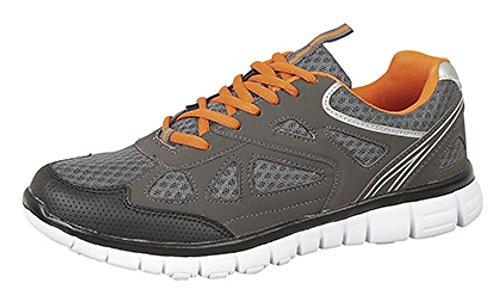 DekMeteor - Zapatillas hombre Gris - gris/negro