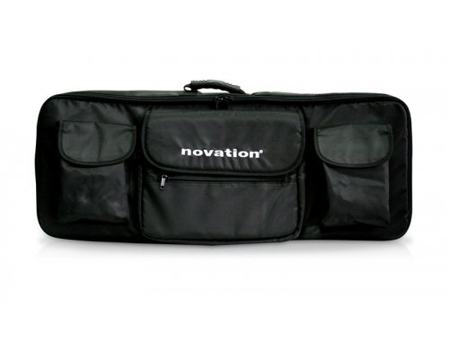 Novation 49 Soft Shoulder Bag for 49-Key MIDI Controller Keyboards, Black