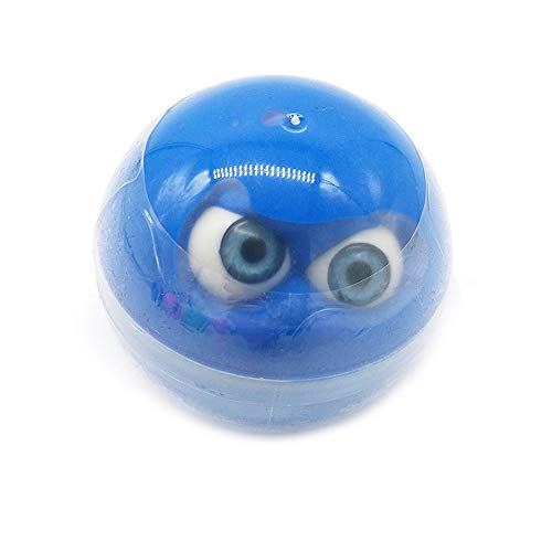 Unionm Slime Toys, DIY Supplies Halloween Props Eyeball Putty Crystal Sludge Clay Toy Mud Soft and Non-Sticky Scented Gifts for Kids Boys Girls Stress Anxiety Relief (Blue)]()