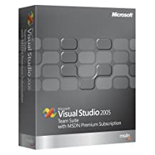 Microsoft Visual Studio Team Suite 2005 Programs w/MSDN Premium Renewal