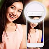 PaxMore Portable LED Ring Selfie Light for Smartphones,Tablets and iPhone