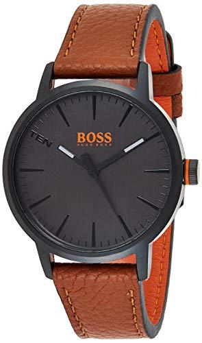 Hugo Boss Orange Reloj Análogo clásico para Hombre de Cuarzo con Correa en Cuero 1550054